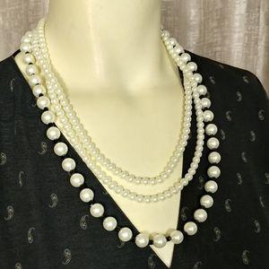 KENNETH JAY LANE Multiple Strands Necklace